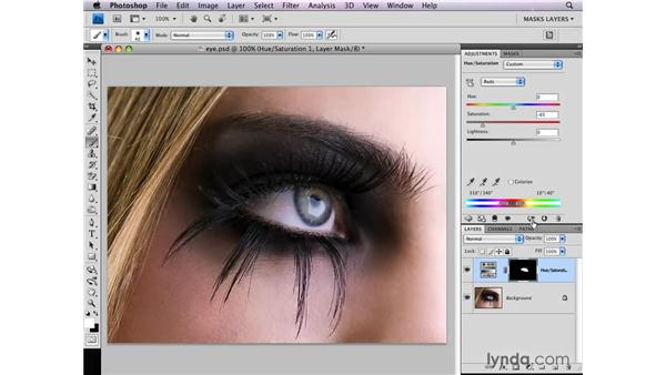 Retouching portraits selectively: Photoshop CS4: Layer Masks in Depth