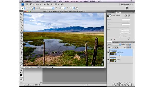 Combining Camera Raw exposures: Photoshop CS4: Layer Masks in Depth