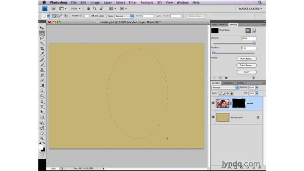 Framing photographs: Photoshop CS4: Layer Masks in Depth
