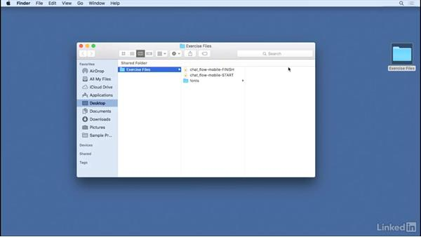 Using the exercise files: Learn Sketch: Working With Developers