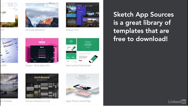 Using templates: Learn Sketch: Working With Developers