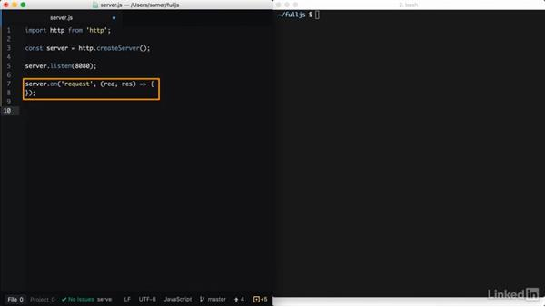 The HTTP/HTTPS modules: Learning Full-Stack JavaScript Development: MongoDB, Node and React