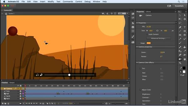 Camera zoom, pan, and rotation: Animate CC 2017: New Features