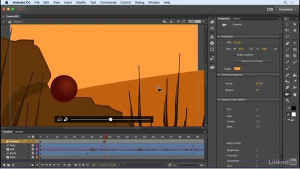 Animate the camera: Animate CC 2017: New Features