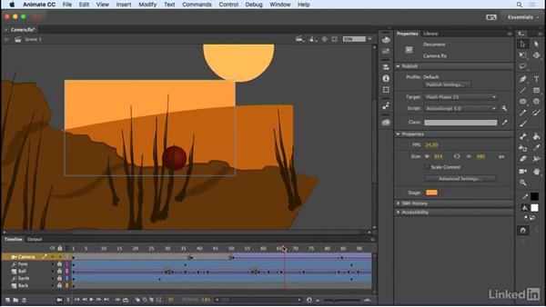Stage clipping and outline: Animate CC 2017: New Features