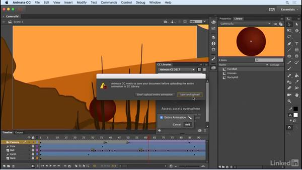 Share documents and symbols: Animate CC 2017: New Features