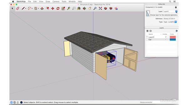 Controlling object visibility: SketchUp: The Ultimate Man-Cave or She-Shed Design