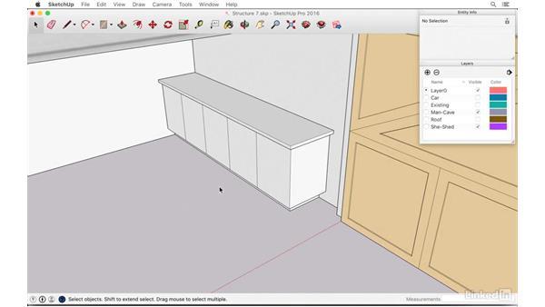 Creating a workshop: SketchUp: The Ultimate Man-Cave or She-Shed Design