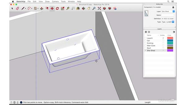 """Placing a bathtub in the """"she shed"""": SketchUp: The Ultimate Man-Cave or She-Shed Design"""