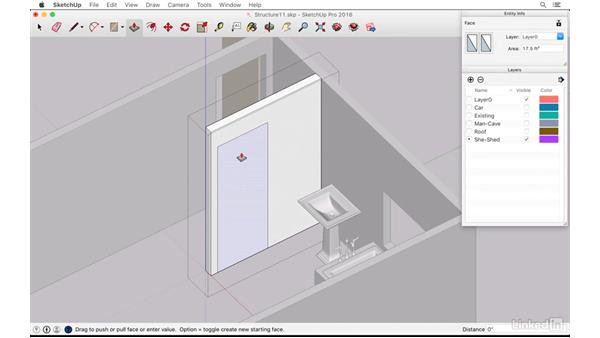 Finishing the she-shed bathroom: SketchUp: The Ultimate Man-Cave or She-Shed Design