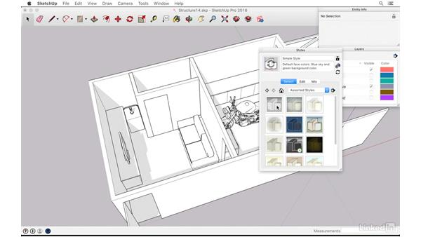 Playing with styles: SketchUp: The Ultimate Man-Cave or She-Shed Design