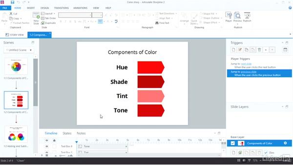How color works: Visual Design Basics in Articulate