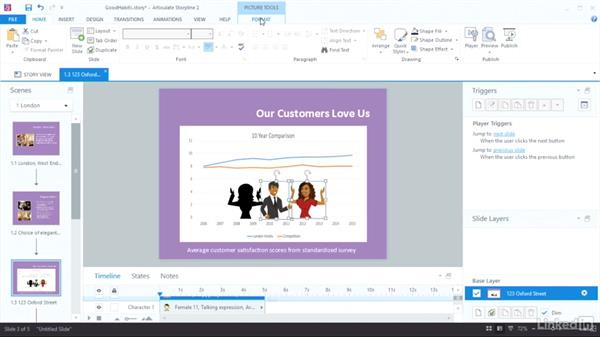 Consider using silhouettes: Visual Design Basics in Articulate
