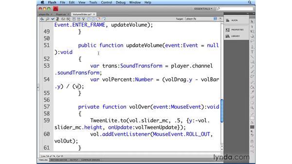Controlling volume: Flash CS4 Professional Audio Techniques