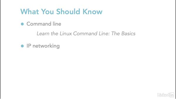 What you should know: Linux: Network Configuration