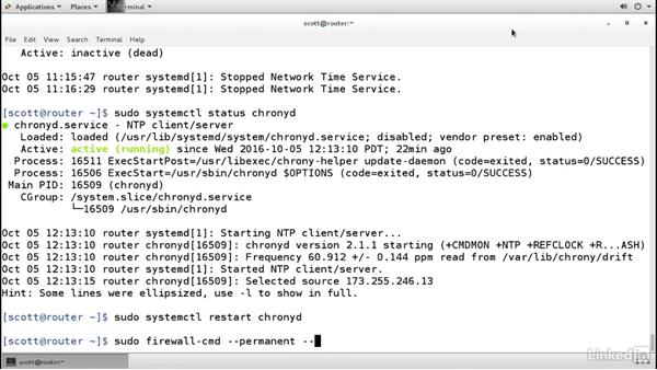 Sync system time with a network peer