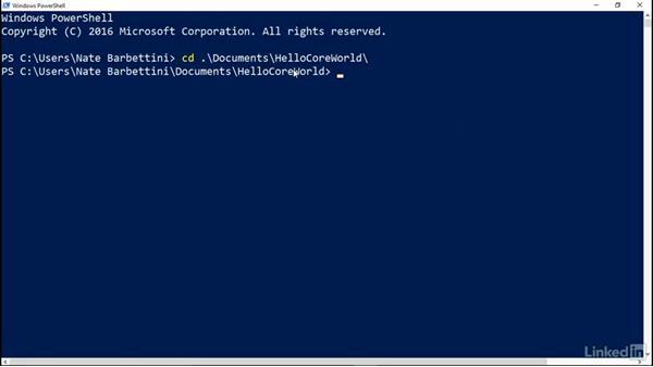 Publish your app via the command line: Deploying ASP.NET Core Applications