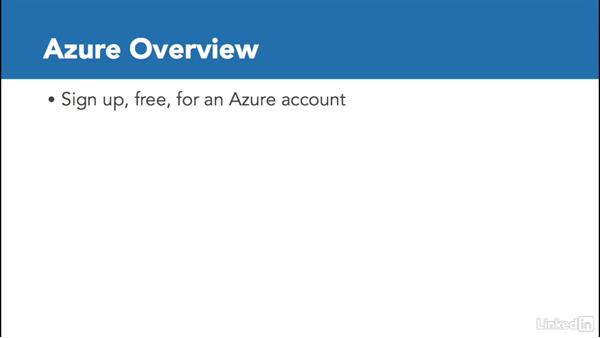 Get started with Azure: Deploying ASP.NET Core Applications