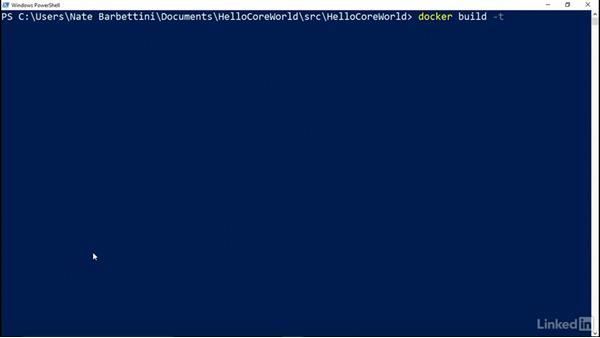 Publish an image to Docker Hub: Deploying ASP.NET Core Applications