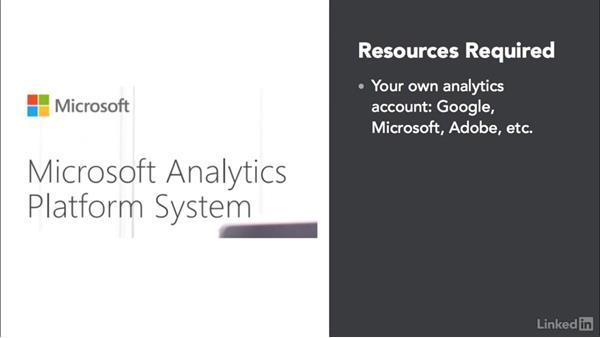 Before watching this course: Marketing Analytics: Presenting Digital Marketing Data