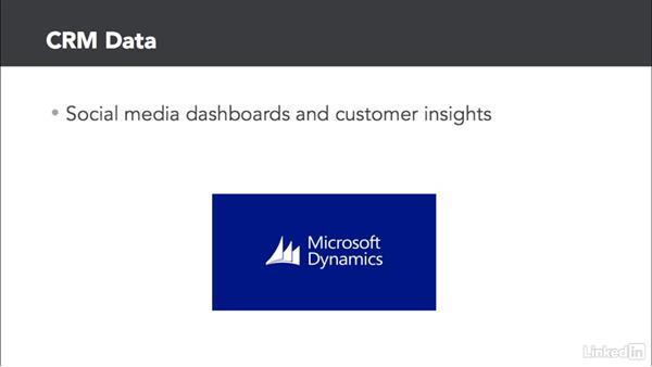 Data types and sources to consider: Marketing Analytics: Presenting Digital Marketing Data