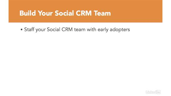 Allocate resources: Social CRM Fundamentals