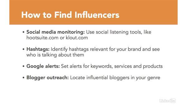 Identify influencers: Social CRM Fundamentals