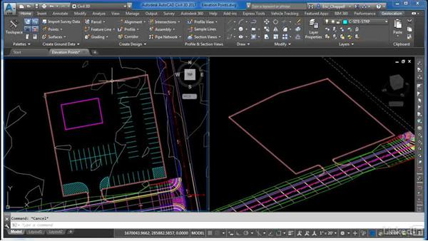 Adding and removing elevation points: AutoCAD Civil 3D: Site Design