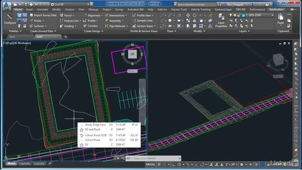 Working with infills: AutoCAD Civil 3D: Site Design