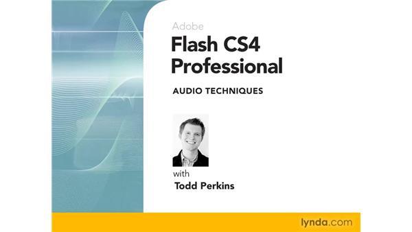 Goodbye: Flash CS4 Professional Audio Techniques