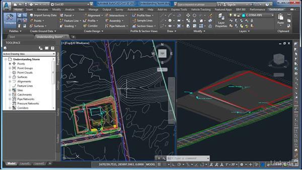Understanding storm design for sites: AutoCAD Civil 3D: Site Design