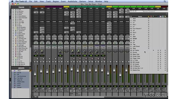 Using the exercise files: Mixing and Mastering with Pro Tools