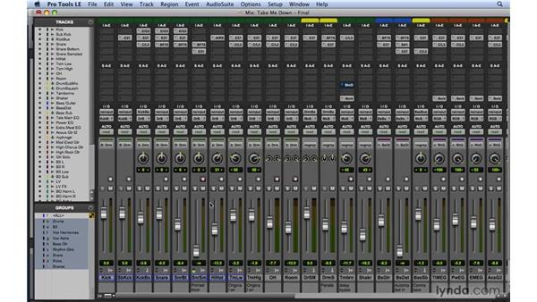 Introducing the Pro Tools Mixer: Mixing and Mastering with Pro Tools