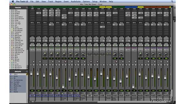 Understanding mixer signal flow: Mixing and Mastering with Pro Tools