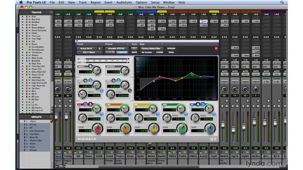 Learning the basics of EQ: Frequency-specific level control: Mixing and Mastering with Pro Tools