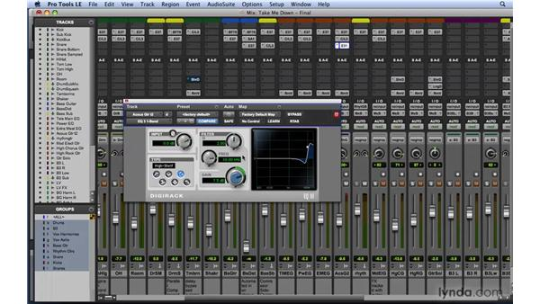 Using DigiRack EQ III: Mixing and Mastering with Pro Tools