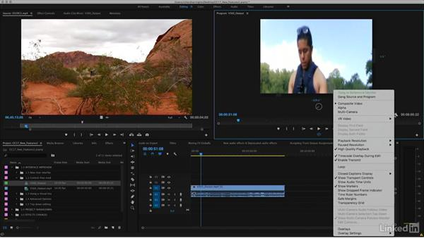 Control-free mode to the VR viewer: Premiere Pro CC 2017: New Features