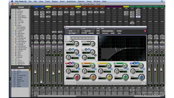 Mixing tips and tricks for EQ: Mixing and Mastering with Pro Tools
