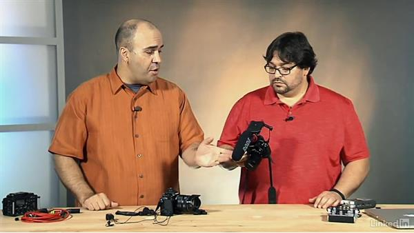 Attaching directly to a camera: Video Gear: Audio