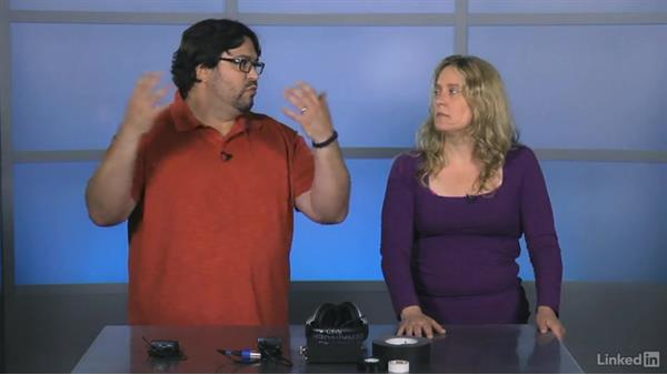 Working with a wireless mic: Video Gear: Audio