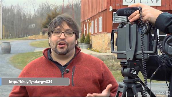 Attaching a shotgun mic: Video Gear: Audio