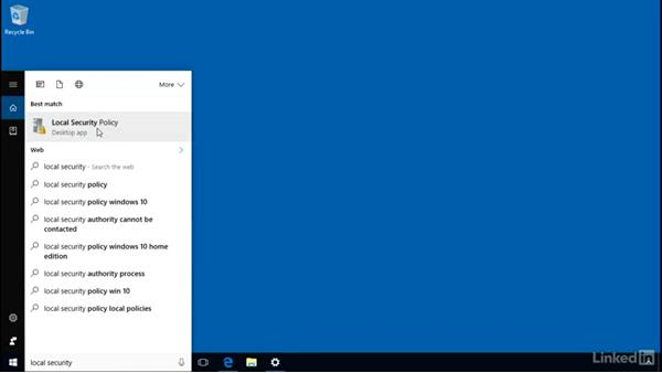 Configure UAC behavior: Windows 10: Manage and Maintain Windows 10