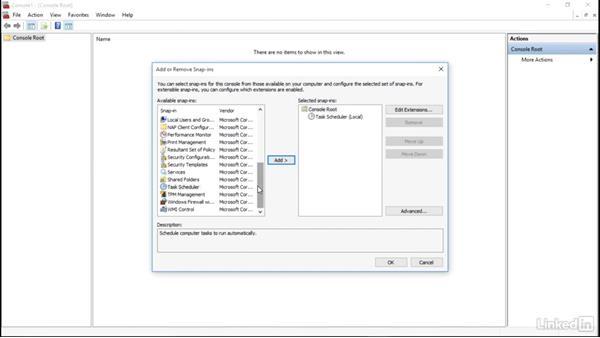 Create and use an MMC: Windows 10: Manage and Maintain Windows 10