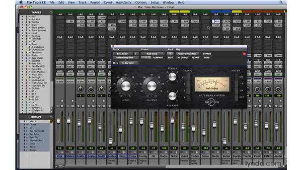 Mixing tips and tricks: Dynamics: Mixing and Mastering with Pro Tools