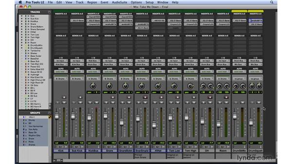 "Building parallel or ""upward"" compression: Mixing and Mastering with Pro Tools"