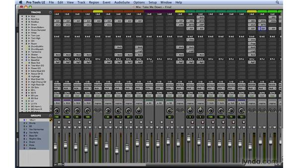 Mixing with reverb: Mixing and Mastering with Pro Tools