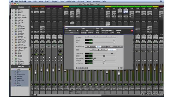 Mixing tips and tricks: Creating mix depth: Mixing and Mastering with Pro Tools