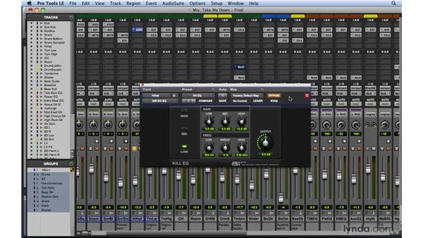 Working with the Creative Collection: Mixing and Mastering with Pro Tools