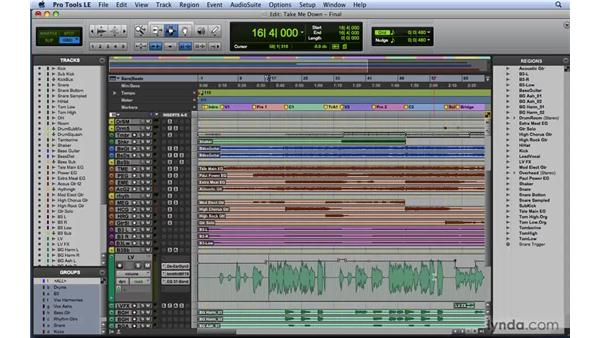 Understanding automation: Mixing and Mastering with Pro Tools