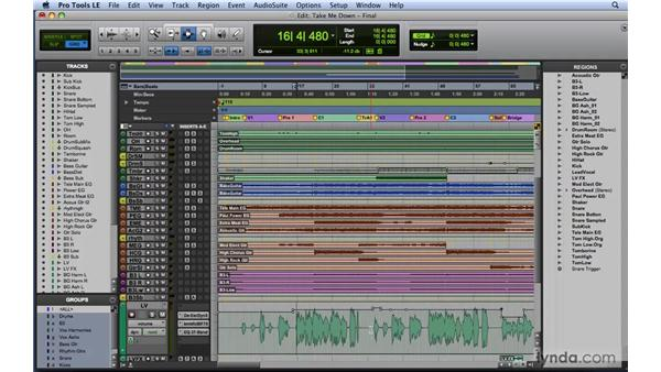 Automation strategies for mixing: Mixing and Mastering with Pro Tools